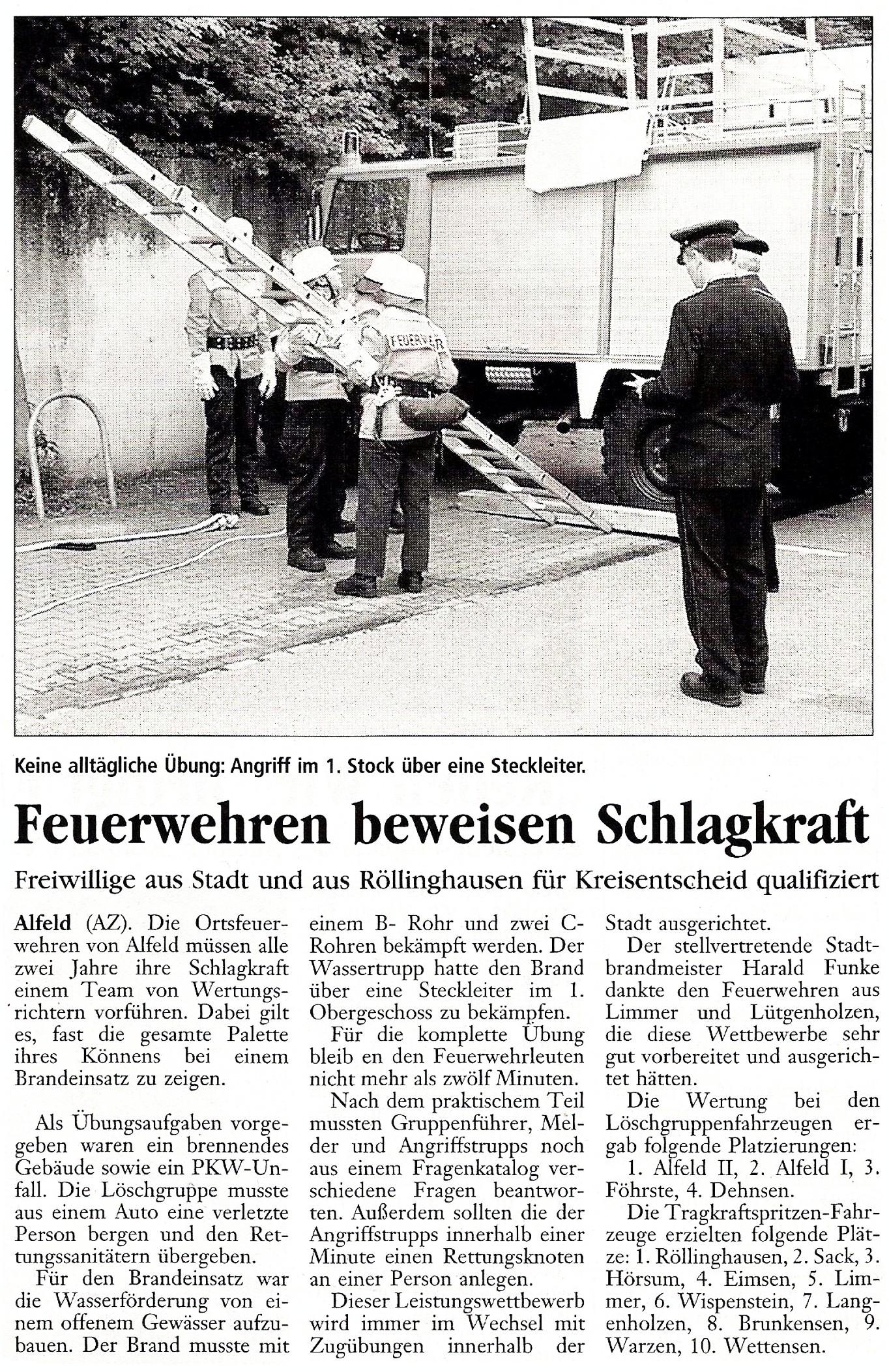 2002-05-31 Feuerwehren beweisen Schlagkraft