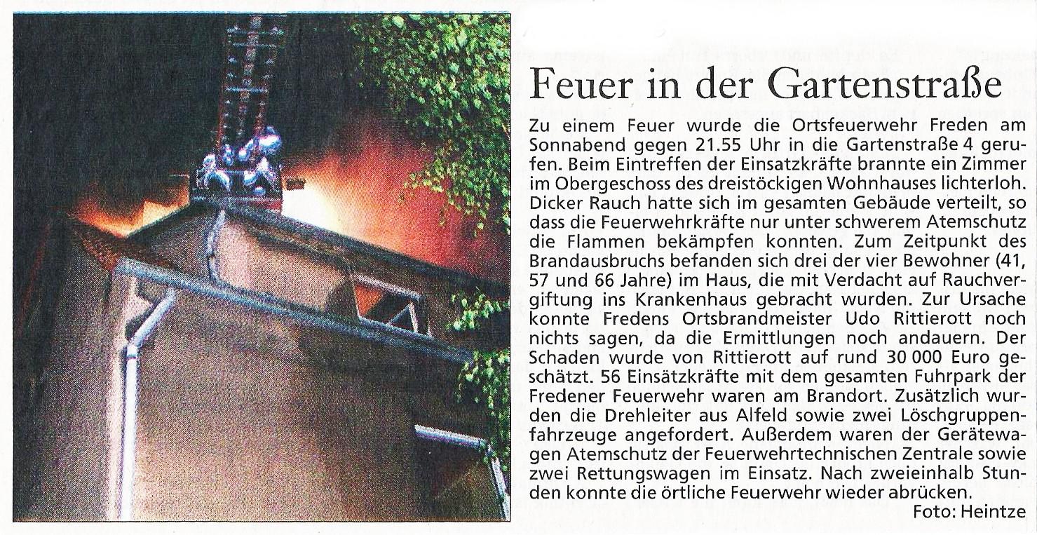 2005-10-04 Feuer in der Gartenstraße