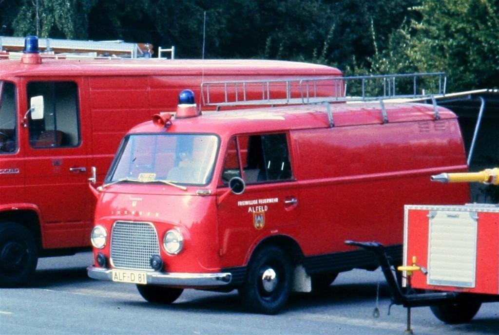 ELW Anfang der 1980er Jahre. ALF-D 81. Funkrufnahme: Florian Hilburg 26-60