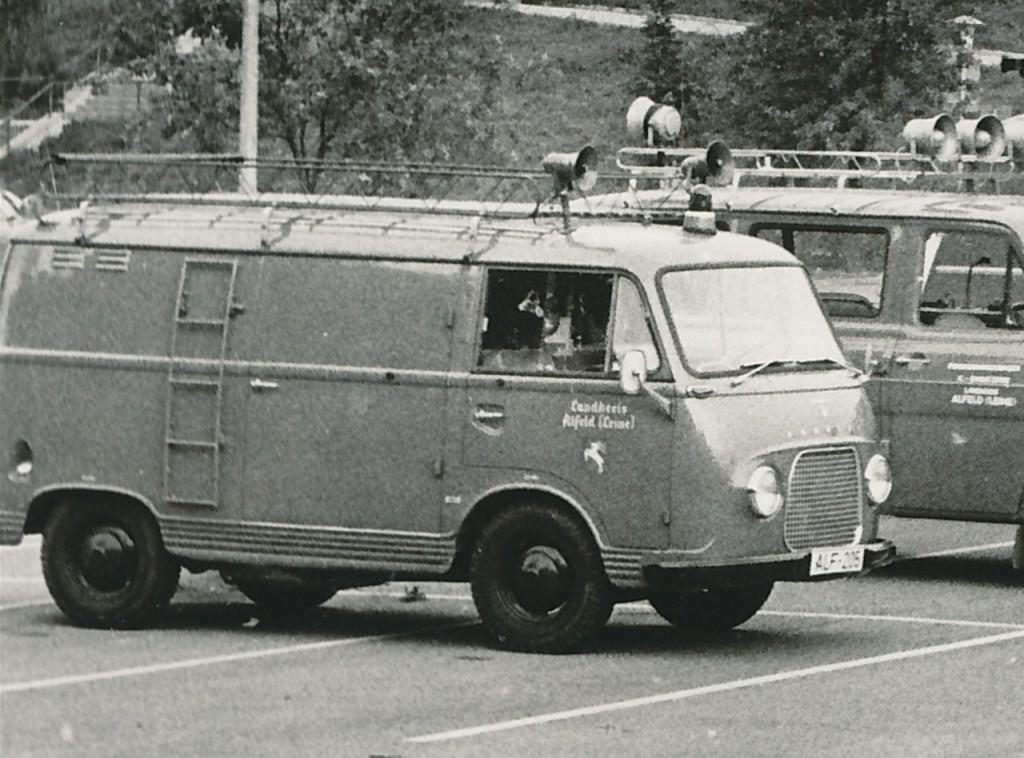Gerätewagen, Ford 1250, 1964 bis 05.10.1974, ALF-205 (Fahrzeug des Landkreis Alfeld)