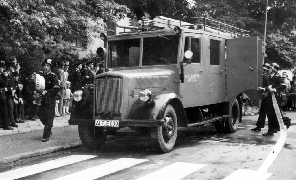 Löschgruppenfahrzeug LF 15. ca.1955 bis ca. 1961, ALF-E 639