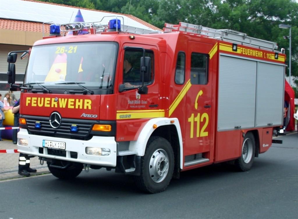 LF16 HI-LX 112 26-21 ab2004 Mercedes Atego 1325 Rosenbauer