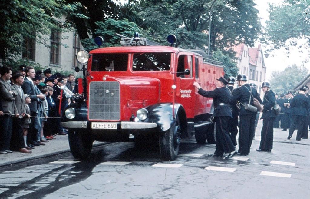 LF 25, Daimler-Benz, 19.02.1947 bis 30.07.1969, ALF-E 640, Hubraum 7274cm³, 100PS, zul. Gesamtgewicht: 11,15t