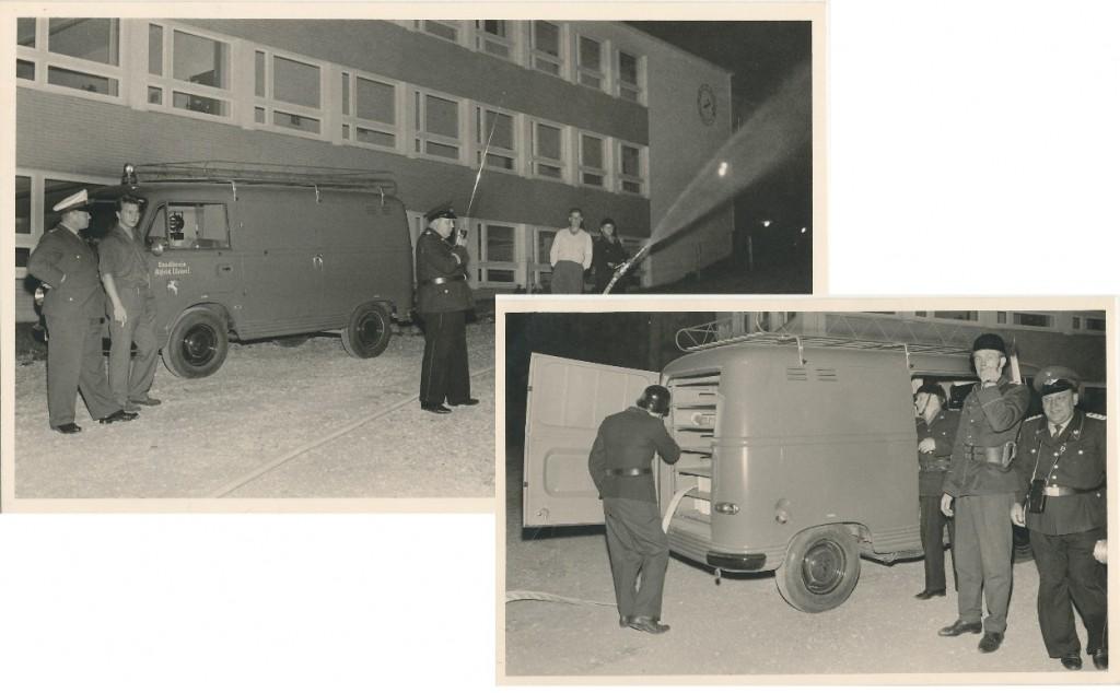 Schlauchwagen. Der Ford FK 1000 war in den 1960er Jahren in Alfeld stationiert und war ein Fahrzeug des Landkreises Alfeld