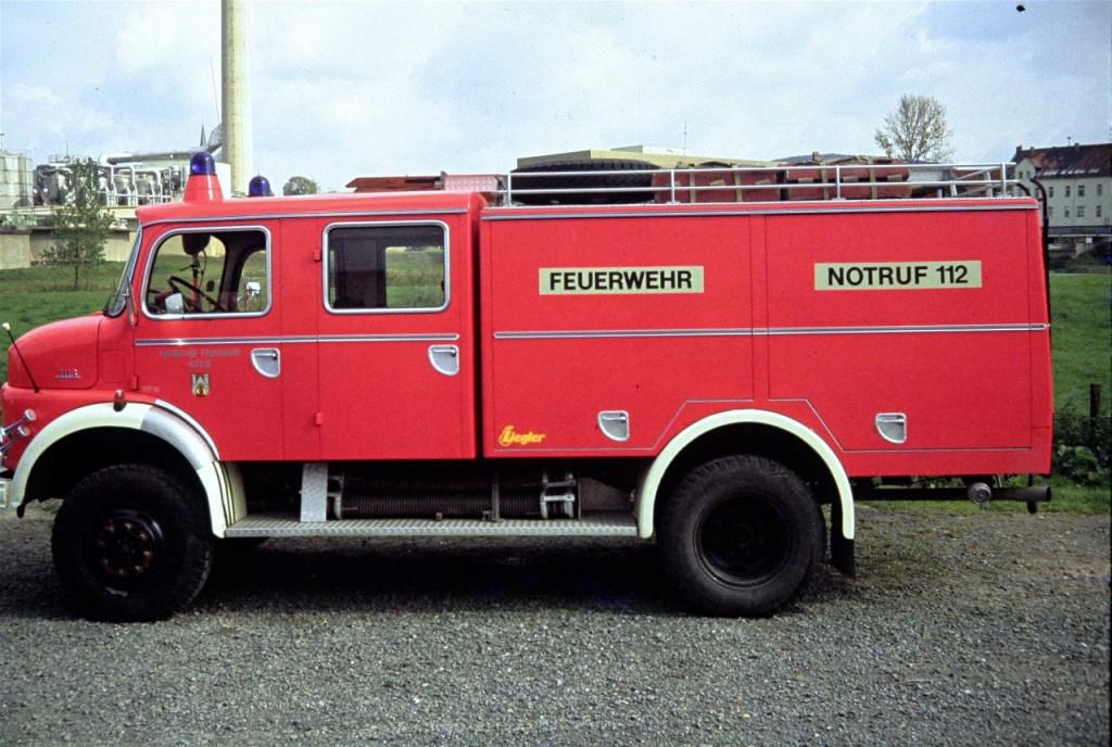 TLF 16, 19.09.1970 bis 1980, ALF-S 313, Funkrufname: Florian Hilburg 26-11. Der Mercedes 1113 wurde am 22.12.1980 an die Stützpunktwehr Dehnsen abgegeben und dort 2014 ausgemustert.